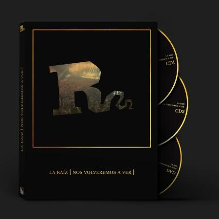 LA RAÍZ - Nos volveremos a ver (2018) 2CD + DVD en directo