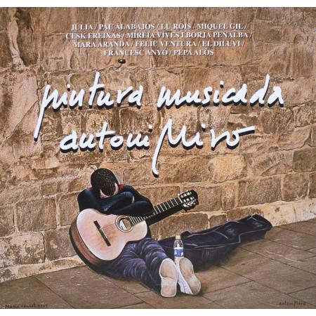PINTURA MUSICADA - Antoni Miró (2018) Diversos Autors CD-LLIBRE