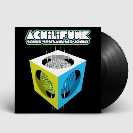 """ACHILIFUNK SOUND SYSTEM - Disco Jondo (2016) VINIL 12"""""""