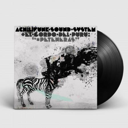 """ACHILIFUNK SOUND SYSTEM & EL GORDO DEL PURU - X Peteneras (2017) vinil 12"""""""