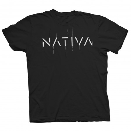 NATIVA - Samarreta logo negra