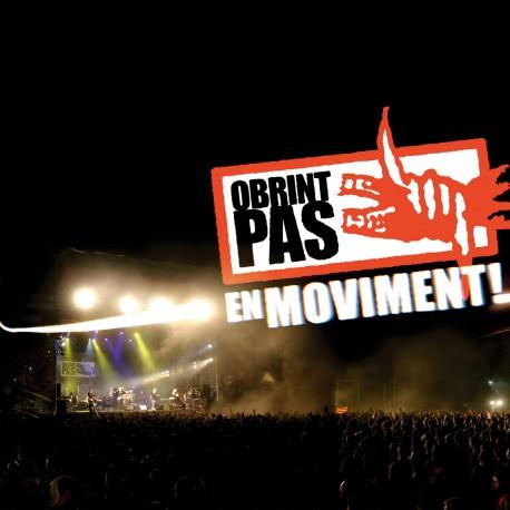 OBRINT PAS - En moviment (2005) CD+DVD directe