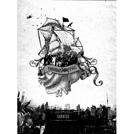 OBRINT PAS - Coratge (2011) CD LLIBRE 96pàg.