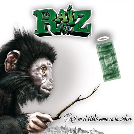 LA RAÍZ - Así en el cielo como en la selva (2013) CD DIGIPACK
